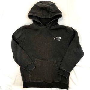 2/30: VANS Grey Hooded Fleece Sweatshirt